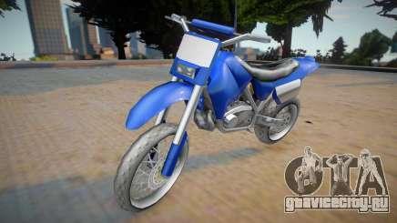 Yamaha XT660 (2015) для GTA San Andreas