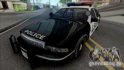 Chevrolet Caprice 1992 LSPD Improved для GTA San Andreas