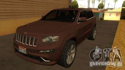 Jeep Grand Cherokee SRT 2012 для GTA San Andreas