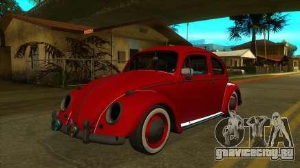 Volkswagen Beetle 1966 (IVF, VEHFUNCS, ADB) для GTA San Andreas
