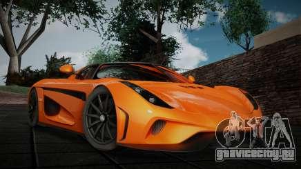 Koenigsegg Regera Roadster для GTA San Andreas