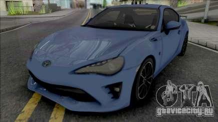Toyota GT86 2017 для GTA San Andreas