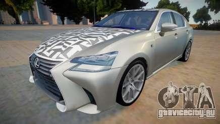 Lexus GS-F New для GTA San Andreas