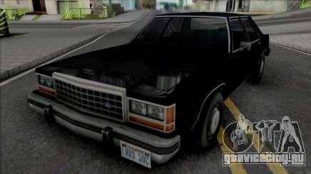Ford Crown Victoria 1986 (MIB) для GTA San Andreas
