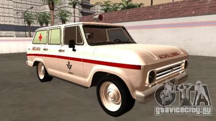 Chevrolet Veraneio 1973 Ambulância do INAMPS для GTA San Andreas