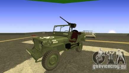 JEEP Wrangler US Army Harinder Mods для GTA San Andreas