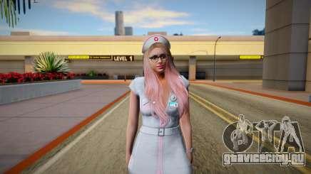 GTA Online Skin Ramdon Female Outher Dress Sexy для GTA San Andreas
