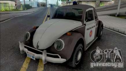 Volkswagen Fusca 1970 Military Police для GTA San Andreas