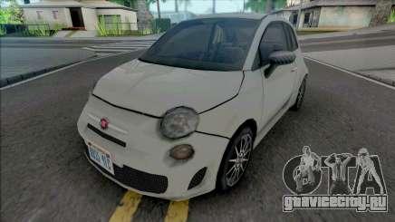 Fiat 500 2015 Improved для GTA San Andreas