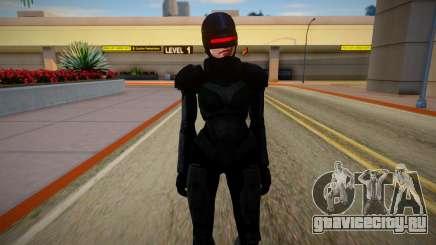 GTA V Female Robocop для GTA San Andreas