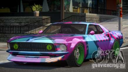 Ford Mustang RTR-X PJ9 для GTA 4