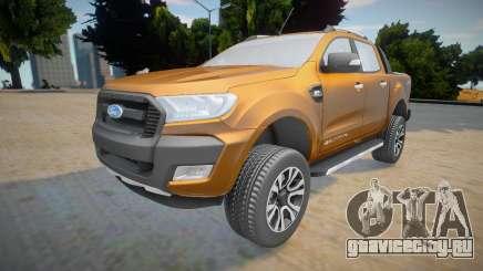 Ford Ranger Cabine Dupla Wildtrak 2016 для GTA San Andreas