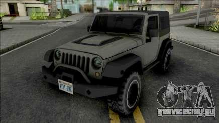 Jeep Wrangler Improved для GTA San Andreas