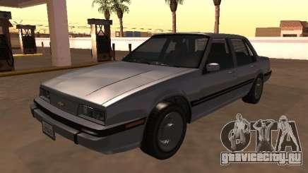 Chevrolet Cavalier Sedan 1988 для GTA San Andreas