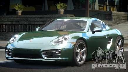Porsche 981 GST для GTA 4