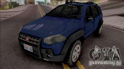 Fiat Palio Weekend Adventure 2013 для GTA San Andreas