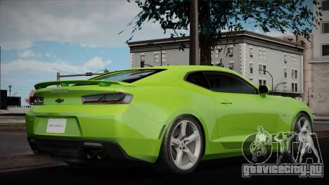 Chevrolet Camaro 2016 для GTA San Andreas