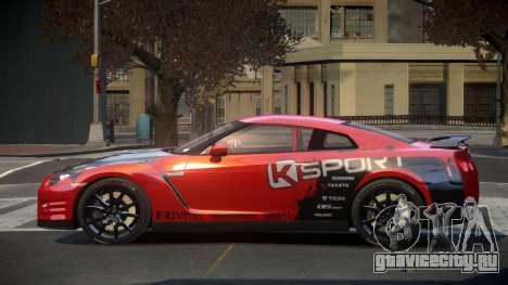 Nissan GT-R Egoist L4 для GTA 4