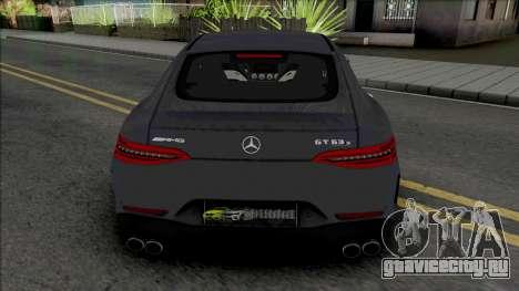 Mercedes-AMG GT 63 S для GTA San Andreas