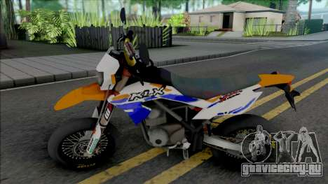 Kawasaki KLX 150 Supermoto для GTA San Andreas