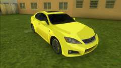 Lexus IS-F (good car) для GTA Vice City