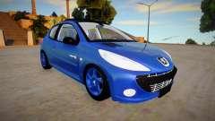 Peugeot 207 Quicksilver для GTA San Andreas