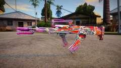 Free Fire Groza для GTA San Andreas