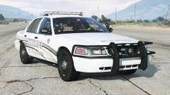 Ford Crown Victoria P71 Police Interceptor 2011〡Sheriff K-9 Unit [ELS]〡blue & blue emergency lights для GTA 5