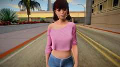 Tiffany Cox from Friday the 13th: The Game для GTA San Andreas