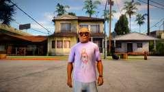 Camisa Asuna Love (SAO) для GTA San Andreas