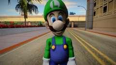 Luigi from Super Smash Bros. for Wii U для GTA San Andreas