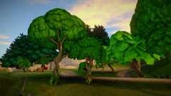 Fortnite Vegetation для GTA San Andreas