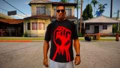 Red Fist T-Shirt для GTA San Andreas