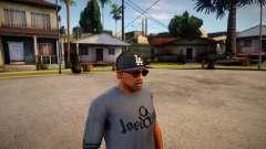 Gorra New Era LA Para CJ для GTA San Andreas