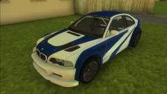 BMW M3 GTR для GTA Vice City