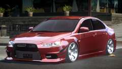 Mitsubishi Lancer X GS-R для GTA 4