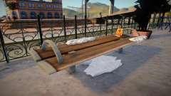 Winter Bench для GTA San Andreas