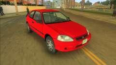 Honda Civic CX для GTA Vice City