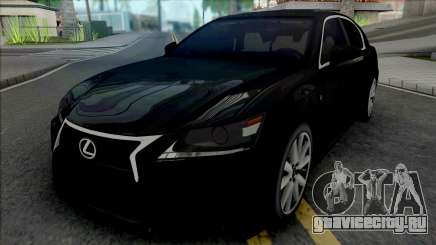 Lexus GS350 Black для GTA San Andreas
