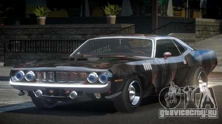 Plymouth Cuda BS-R L8 для GTA 4