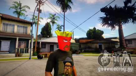 AQUA TEEN HUNGER FORCE - Frylock Mask For CJ для GTA San Andreas