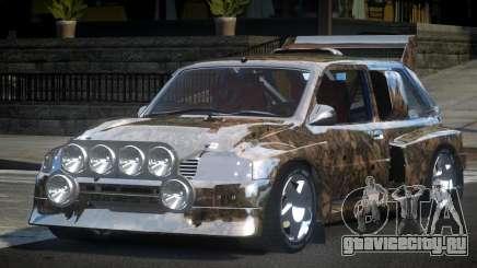 1987 Austin Metro GST-R PJ4 для GTA 4