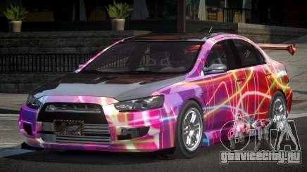 Mitsubishi Lancer X GST-R PJ3 для GTA 4