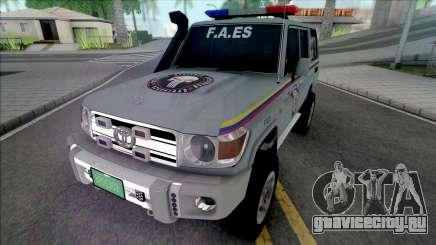 Toyota Land Cruiser FJ76 F.A.ES CPNB для GTA San Andreas