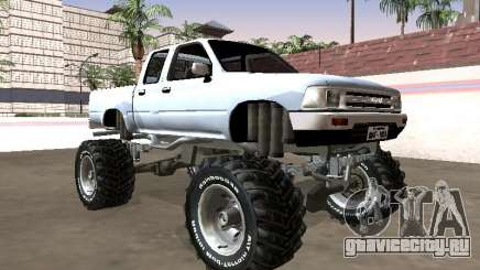 Toyota Hilux 1990 Pickup Monster для GTA San Andreas