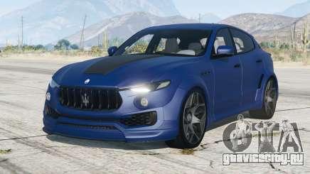 Maserati Levante Novitec Tridente Esteso (M161) 2017〡add-on для GTA 5