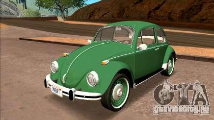 Volkswagen Beetle (Fuscao) 1500 1974 - Brazil для GTA San Andreas