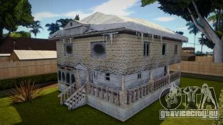 Winter Big House для GTA San Andreas