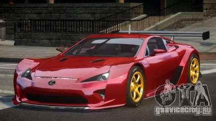 Lexus LFA PSI-R для GTA 4