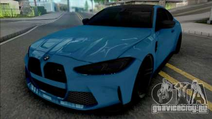 BMW M4 2021 SlowDesign Small Kidney Grille для GTA San Andreas